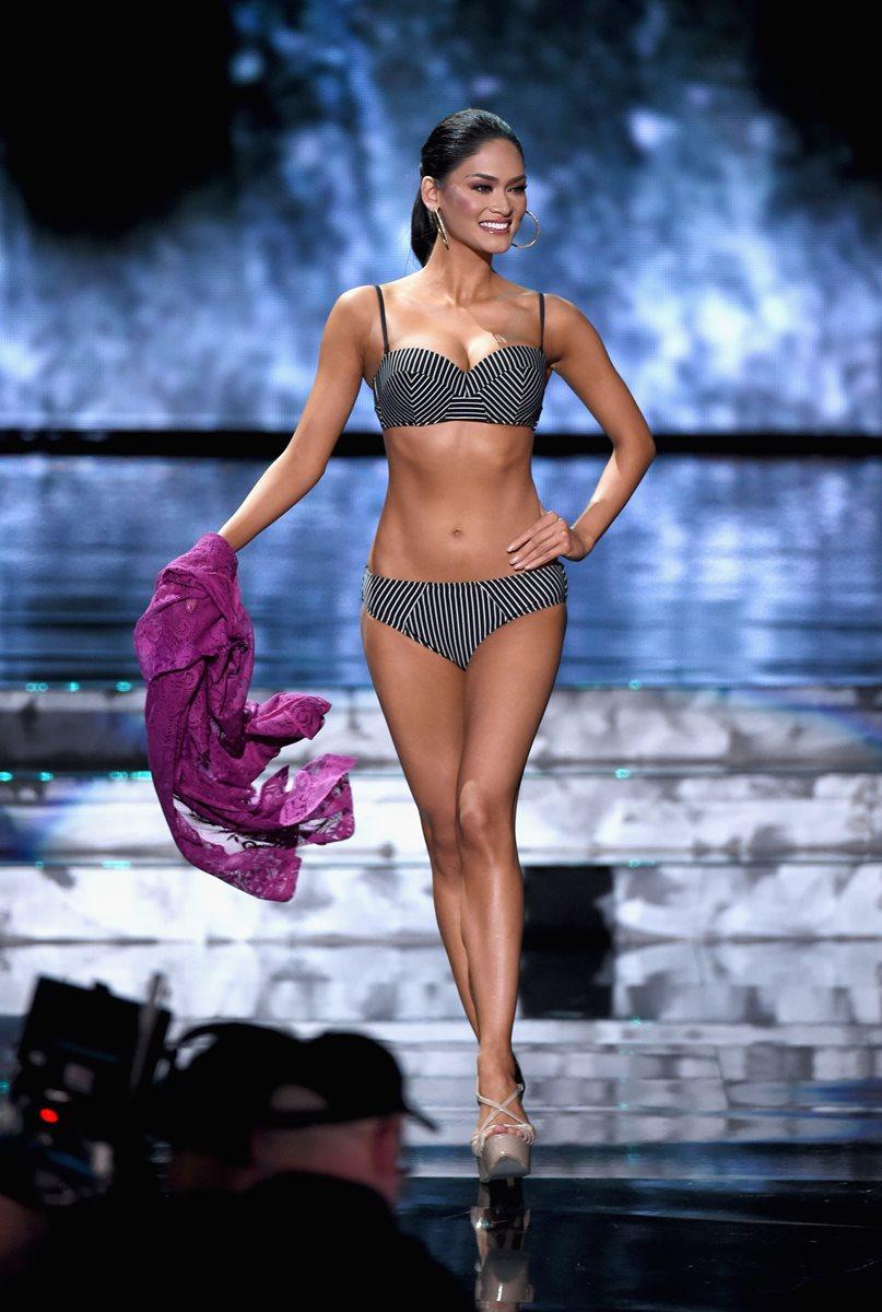 Pia Alonzo Wurtzbach es Miss Filipinas. (Foto Prensa Libre, AFP).