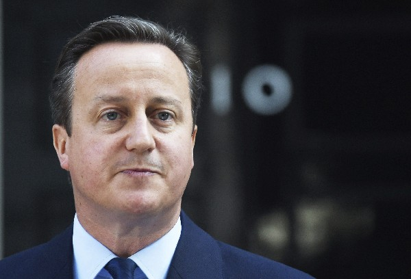 David Cameron anuncia su dimisión al cargo de primer ministro británico el 24 de junio último.(EFE).