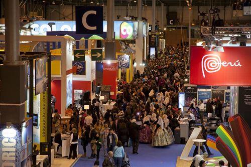 Fitur 2015 atrajo a Madrid alrededor de 200 mil visitantes. (Foto Prensa Libre:europapress.es).