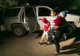 Guatemala tuvo la mayor cantidad de familias y niños aprehendidos en la frontera de EEUU.