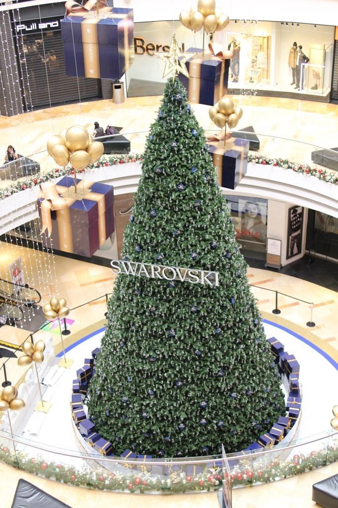 Cuatro días llevó la creación del árbol. (Foto Prensa Libre: Cortesía)