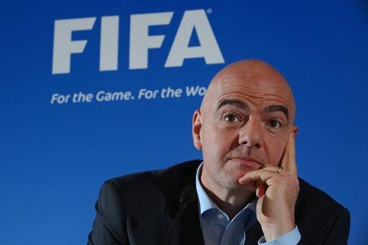 El presidente de la FIFA, Gianni Infantino, dijo que no tendrán tolerancia contra los abusos sexuales contra menores en el futbol. (Foto Prensa Libre: Hemeroteca)