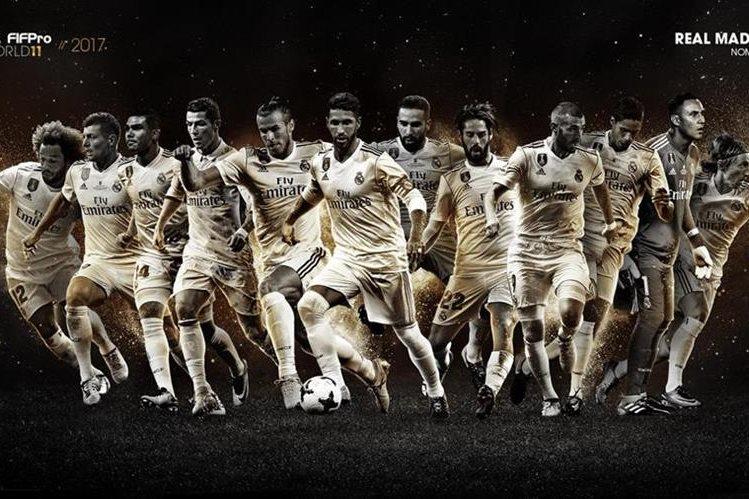 El Real Madrid es el equipo que más jugadores nominados tiene para la edición del 2017. (Foto Prensa Libre: Twitter FIFPro)