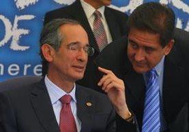 Gustavo Alejos, prófugo de la justicia, fue secretario privado del expresidente Álvaro Colom durante el periodo presidencial 2008-2012. (Foto Prensa Libre: Hemeroteca PL)
