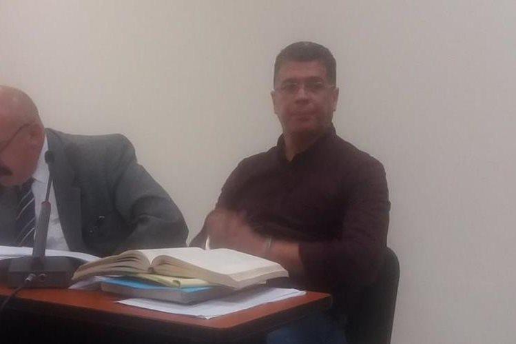 René Arturo Villavicencio es sindicado de extorsión. (Foto Prensa Libre: María José Longo).