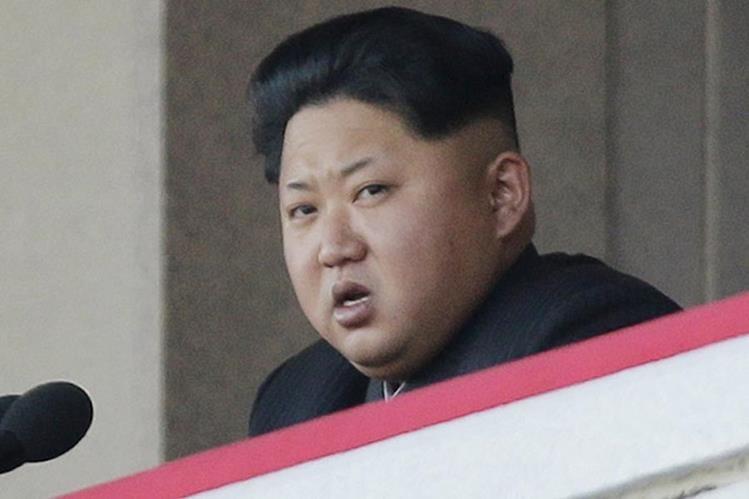 Kim Jong-Un jefe de Estado de Corea del Norte. (Foto Prensa Libre: AP).
