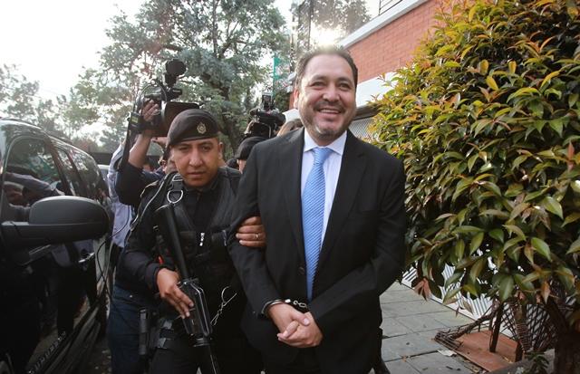 Gudy Rivera fue detenido el 9 de marzo último en residenciales San Jorge, zona 11. (Foto Prensa Libre: Hemeroteca PL)