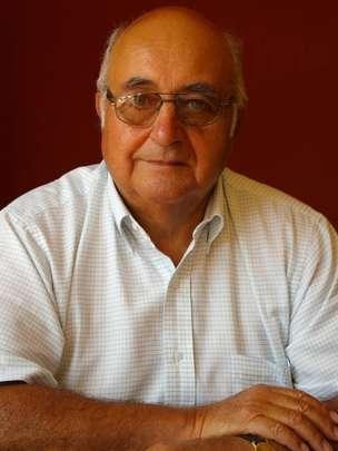 Germán Bravo Valdivieso, historiador chileno. GERMÁN BRAVO