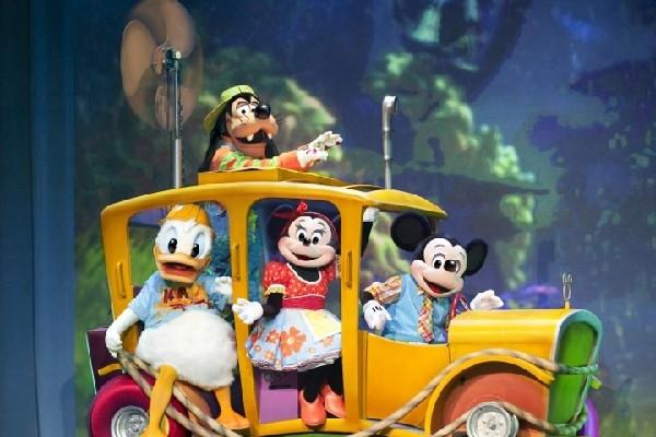 Espectáculo reúne a los personajes icónicos de Disney.