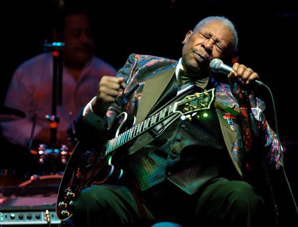 La leyenda del blues B.B. King murió a los 89 años. (Foto Prensa Libre: AP)