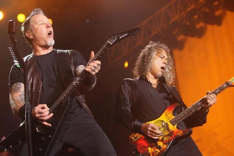 El nuevo disco de Metallica, Hardwired… to Self-Destruct, es uno de los más vendidos en Estados Unidos. (Foto Prensa Libre: Keneth Cruz)