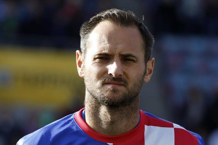 El exjugador croata, Josip Simunic cuenta con el apoyo de la federación croata. (Foto Prensa Libre: Agencias)