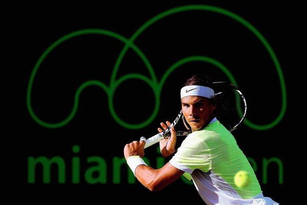 Rafael Nadal ha dominado los torneos de tenis en Madrid. (Foto Prensa Libre: AFP).