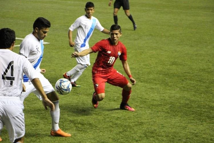 La Sub 20 venció 1-0 a su similar de Panamá, el domingo último. (Foto Prensa Libre).