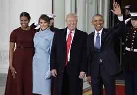 Hoy se hará el cambio de mando en los Estados Unidos