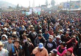 Indígenas piden que se discutan las reformas constitucionales