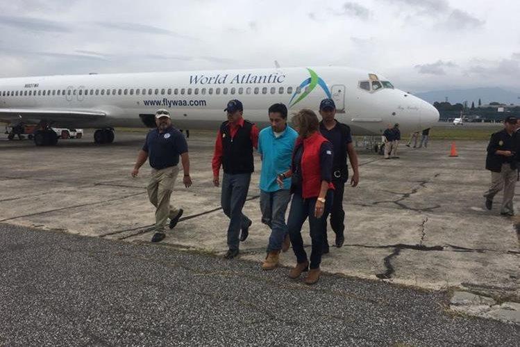 Walter Jacobo Hernández fue detenido en Nueva York y deportado a Guatemala por asesinato. (Foto Prensa Libre: PNC)