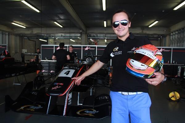 andrés saravia espera subir al podio en el 2014.