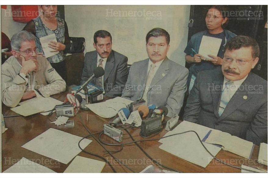 Enrique Ríos Sosa y Robin Morán, ninguno asume responsabilidad de los hechos del Jueves Negro. (Foto: Hemeroteca PL)