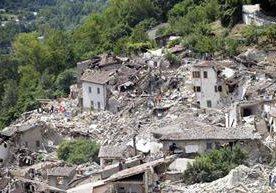 Imagenes impactantes del terremoto en varias ciudades de Italia