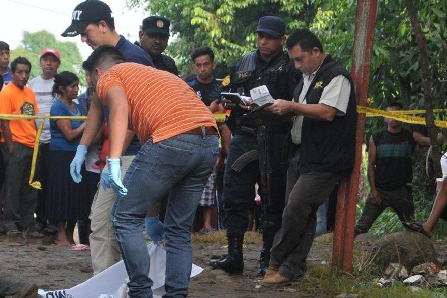 Mario Vitalino Miranda Romero  fue localizado muerto en la zona 5 de Coatepeque, Quetzaltenango. (Foto Prensa Libre: Alexánder Coyoy)