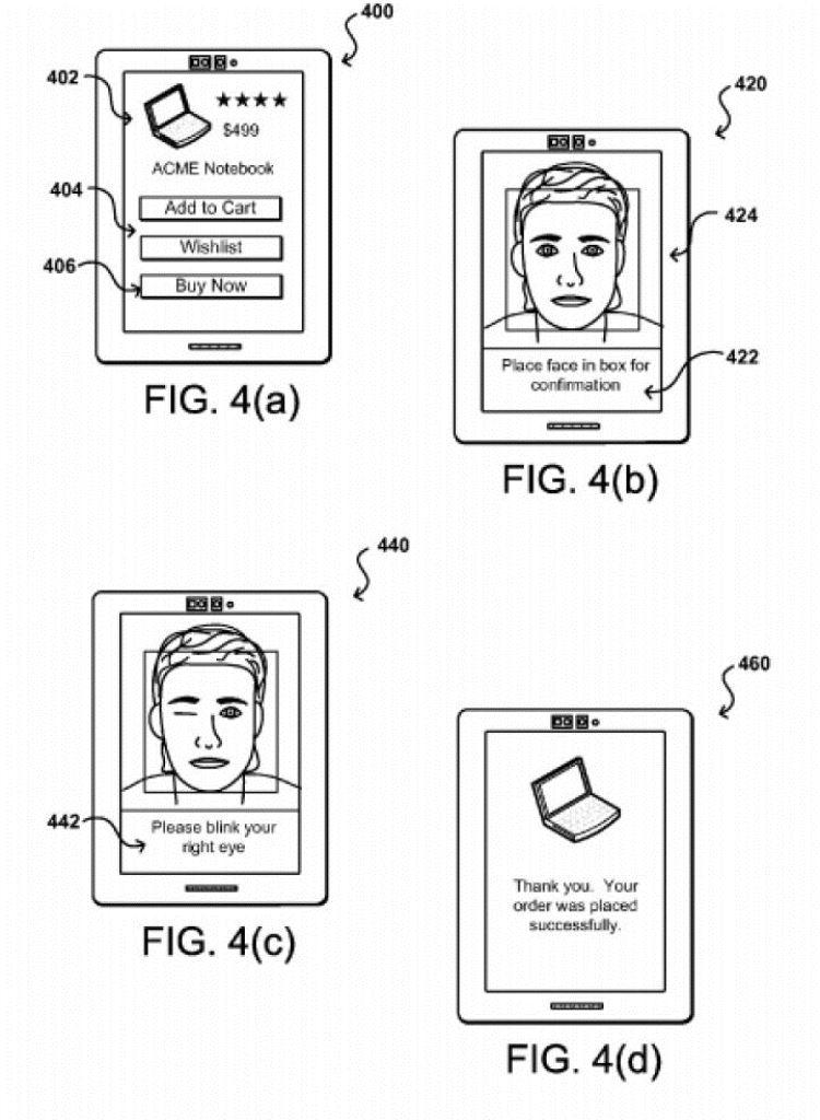 Proceso de verificación de pagos por selfies. (Foto Prensa Libre: Amazon)