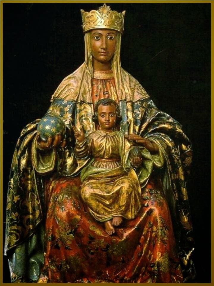 Virgen de Montserrat, declarada patrona de San Juan Sacatepéquez. (Foto Prensa Libre: internet)
