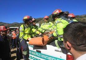 Socorristas reportaron seis turistas muertos en el volcán Acatenango el pasado fin de semana. (Foto Prensa Libre: Estuardo Paredes)