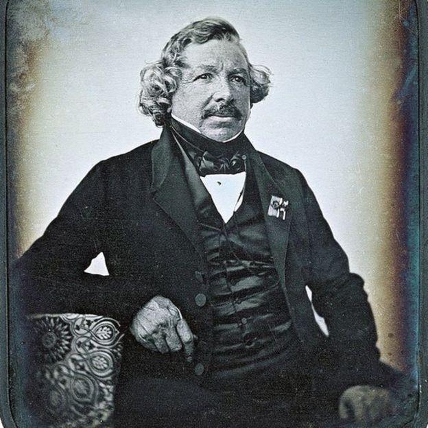 El daguerrotipo fue creado por el francés Louis Daguerre. DOMINIO PÚBLICO