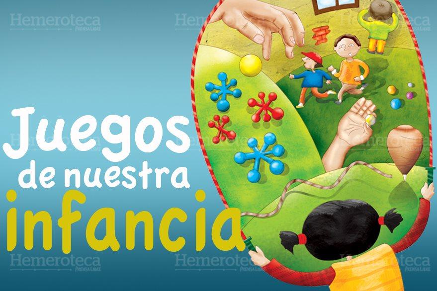 Juegos con los que se divertían los niños hace 30, 40 y más años. (Foto: Hemeroteca PL)