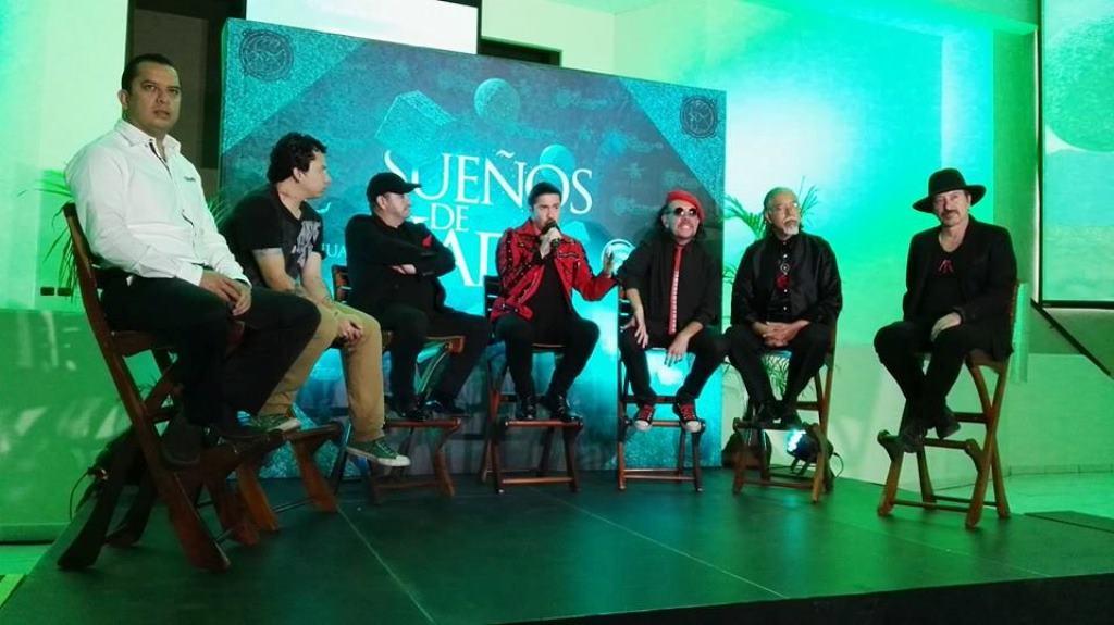 Alux Nahual durante la presentación oficial del nuevo disco. (Foto Prensa Libre: Tomada de facebook.com/Alux-Nahual-Página-Oficial)