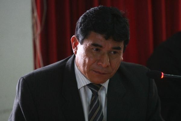 Juez Eduardo Cojulún