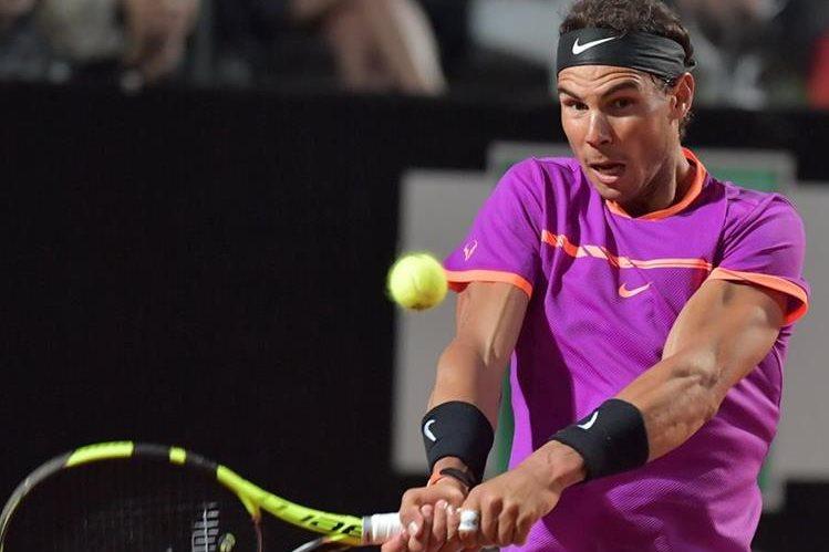 El tenista español Rafael Nadal quedó fuera del abierto de Roma. (Foto Prensa Lire: AFP)