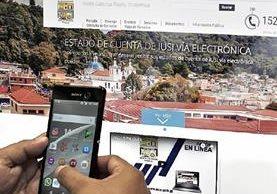 La comuna de Santa Catarina Pinula invertirá Q48 mil en una aplicación para atender a sus vecinos. (Foto Prensa Libre: Paulo Raquec)