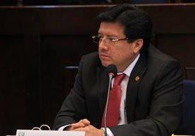 El magistrado Douglas Charchal está vinculado al caso TCQ. (Foto Prensa Libre: Hemeroteca PL)