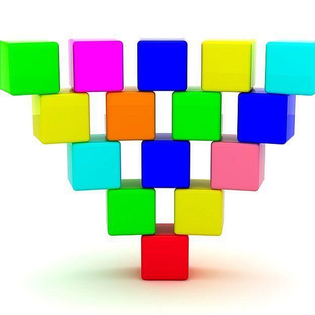 Abajo verás qué queda en el lugar del cubo rojo.  (Foto Prensa Libre: BBC)
