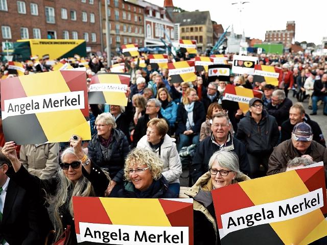 La actual canciller Ángela Merkel mantiene el apoyo de la mayoría de  electores alemanes. (Foto Prensa Libre: AFP)