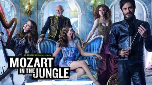 """La serie """"Mozart en the jungle"""" es una creación de Amazon. (Foto Prensa Libre: Internet)"""