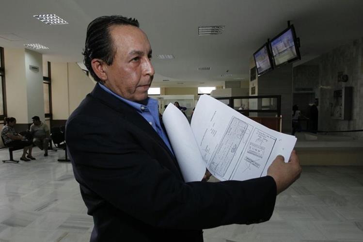 Roberto Barrillas Castillo, presentó una solicitud de antejuicio en contra de Juan Gutiérrez. (Foto Prensa Libre: HemerotecaPL)
