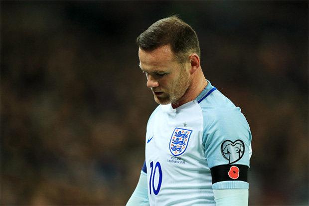 El delantero inglés Wayne Rooney no fue incluído en la convocatoria de la selección de Inglaterra. (Foto Prensa Libre: Hemeroteca)