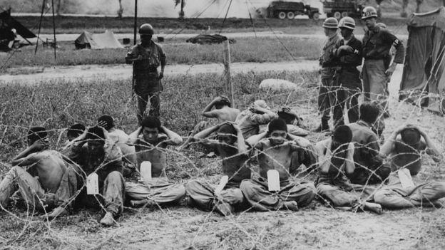 La primera guerra de Corea causó tres millones de muertes, cien mil huérfanos, unos diez millones de desplazados y una completa devastación. GETTY IMAGES
