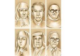 Primero se busca la beatificación, una vez lograda, comienzan nuevas gestiones para conseguir que se les proclame santo. (Ilustraciones: PRENSA LIBRE Esteban Arreola).