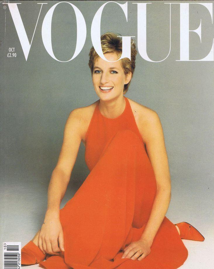Vogue también retrató a la princesa Diana. (Foto Prensa Libre: Hemeroteca PL)