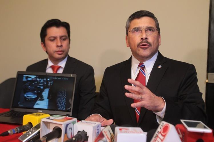 El juzgado penal de turno ordenó el arraigo en contra de Édgar Barquín Durán (Foto Prensa Libre: Hemerotaca PL)