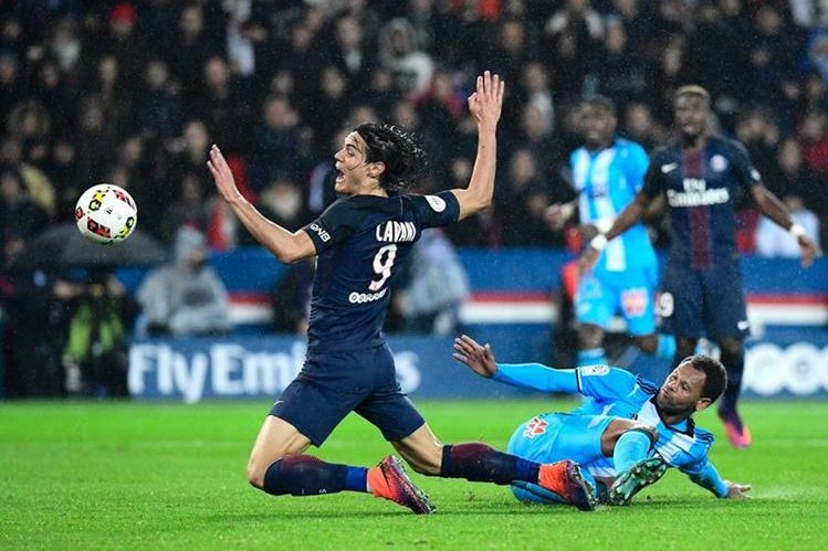 PSG cedió un empate sin goles contra el Marsella en el Parque de los Príncipes. (Foto Prensa Libre: AFP).