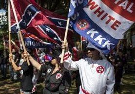 El Ku Klux Klan tiene miembros en varios estados de Estados Unidos, desde Nueva Jersey hasta California. GETTY IMAGES