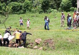 Sacerdote maya fue ultimado en El Cerrito, donde haría ceremonia. (Foto Prensa Libre: Cristian I. Soto)