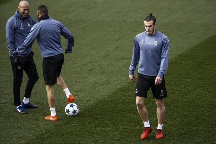 El galés Gareth Bale no entra en la convocatoria del Real Madrid para disputar el partido de ida de los octavos de final de Liga de Campeones ante el Nápoles. (Foto Prensa Libre: EFE)