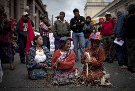 Guatemala es uno de los candidatos a formar parte de las listas de patrimonio inmaterial cultural. (Foto Prensa Libre: EFE)
