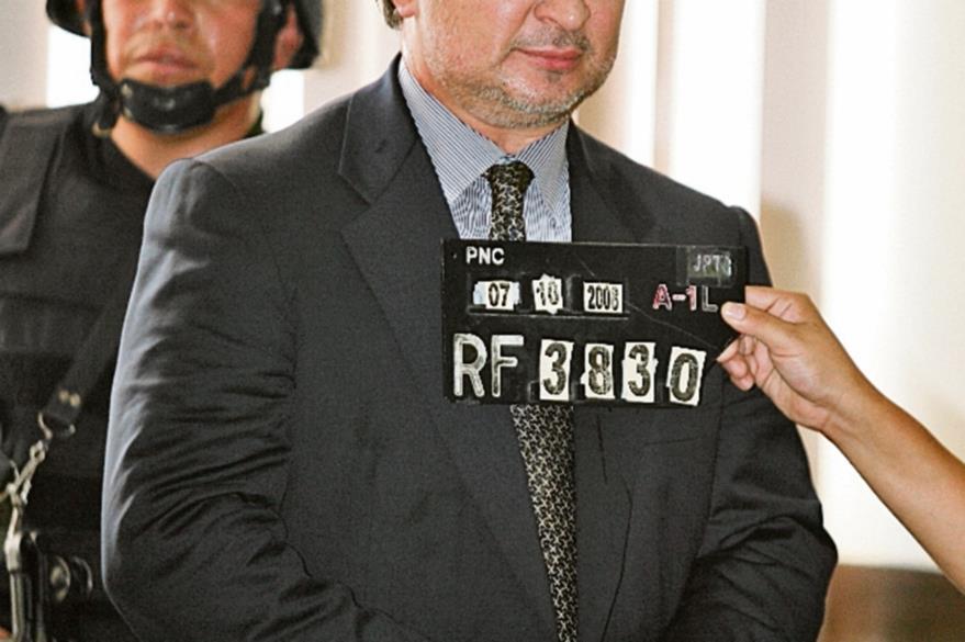 Portillo es fichado en Tribunales, en el 2008. (Foto: Hemeroteca PL)